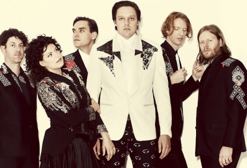 Arcade Fire - Photo by Guy Aroch