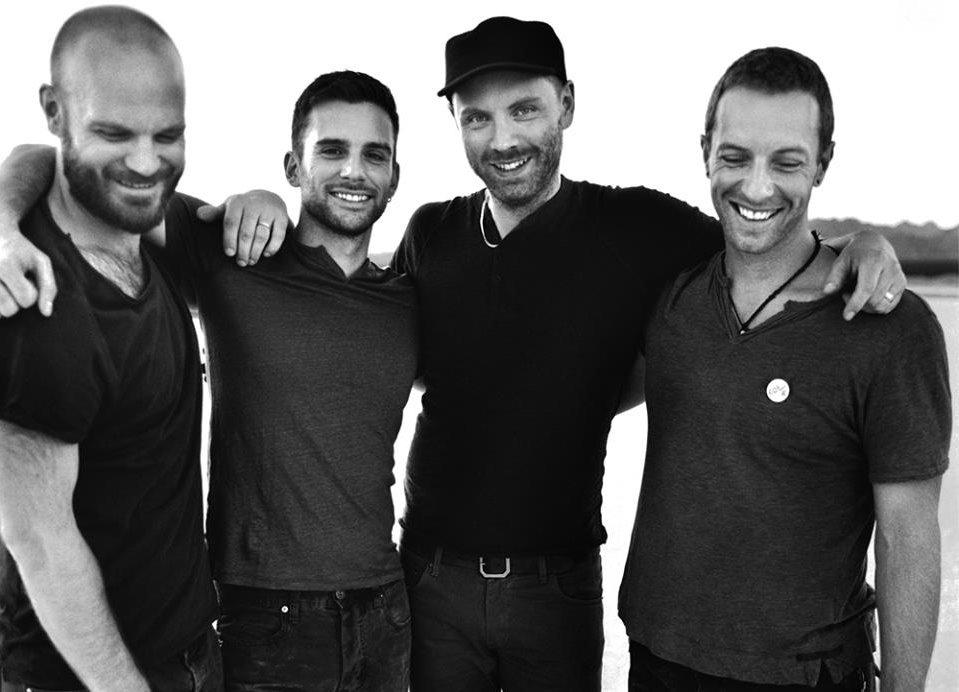 Coldplay - 2014 - Photo by Anton Corbijn