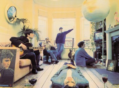 Oasis - Definitely Maybe - Album Cover