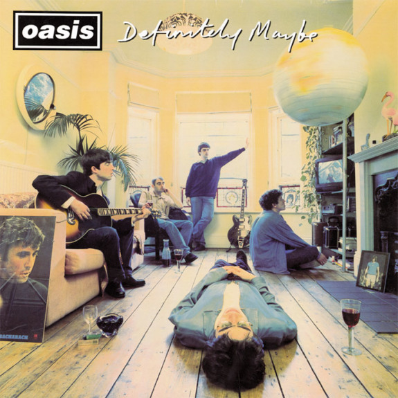 Oasis - Definitely Maybe - Album Cover