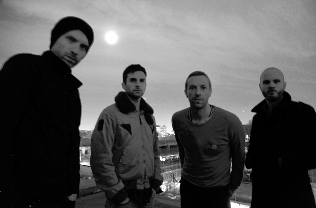 Coldplay - Photo by Phil Harvey