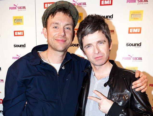 Damon Albarn - Noel Gallagher
