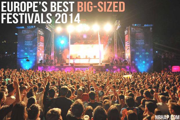 Europe's Best Big Sized Festivals 2014