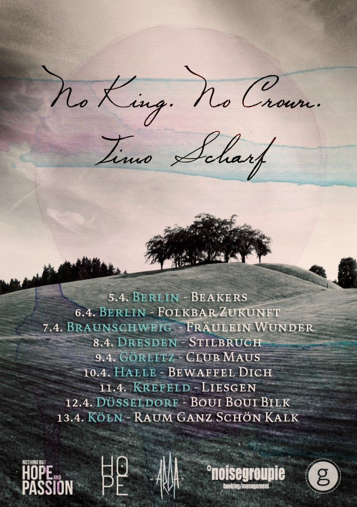 No King No Crown Tour 2014