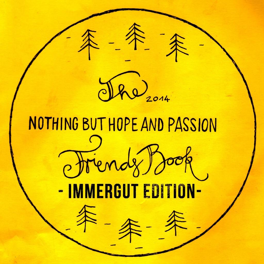 nbhap friends book immergut edition