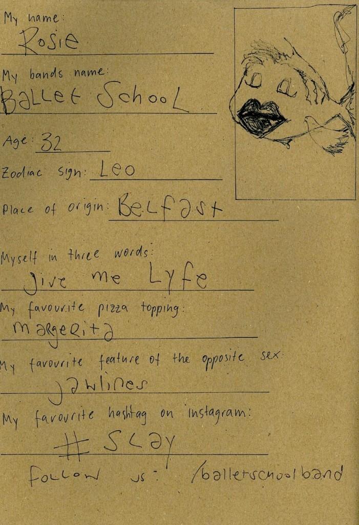 Ballet School - Friendsbook - 1