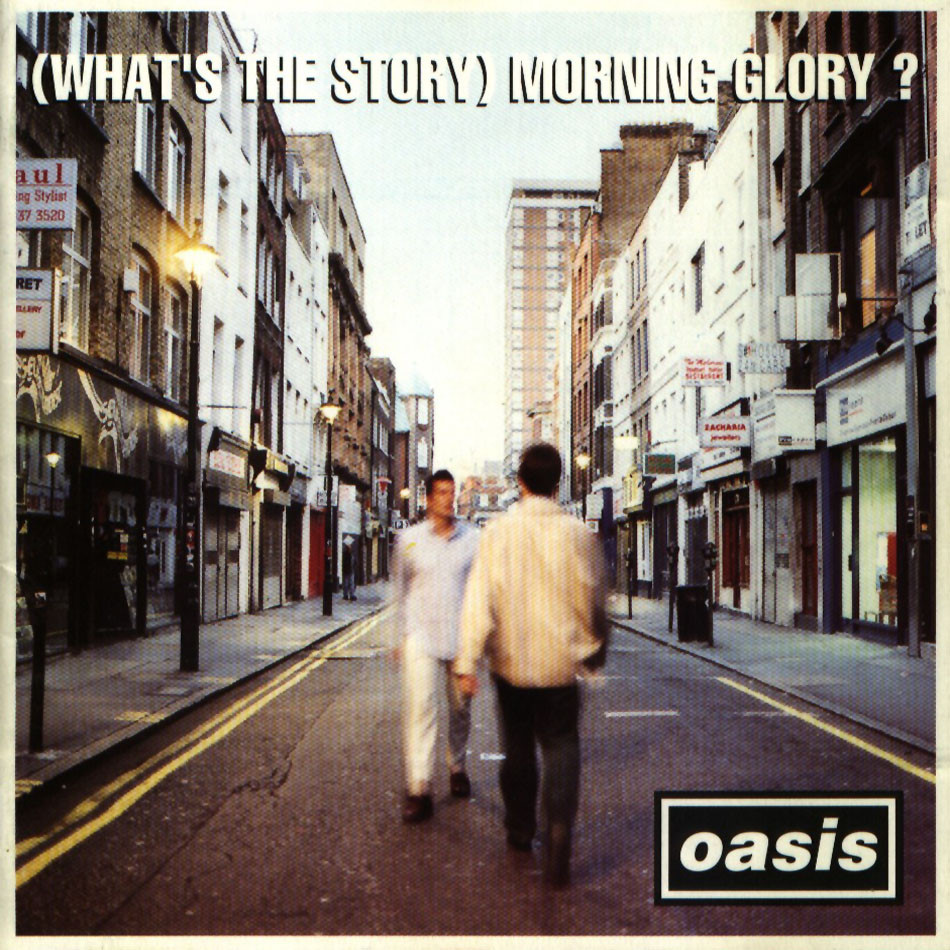 Oasis - Morning Glory - Artwork