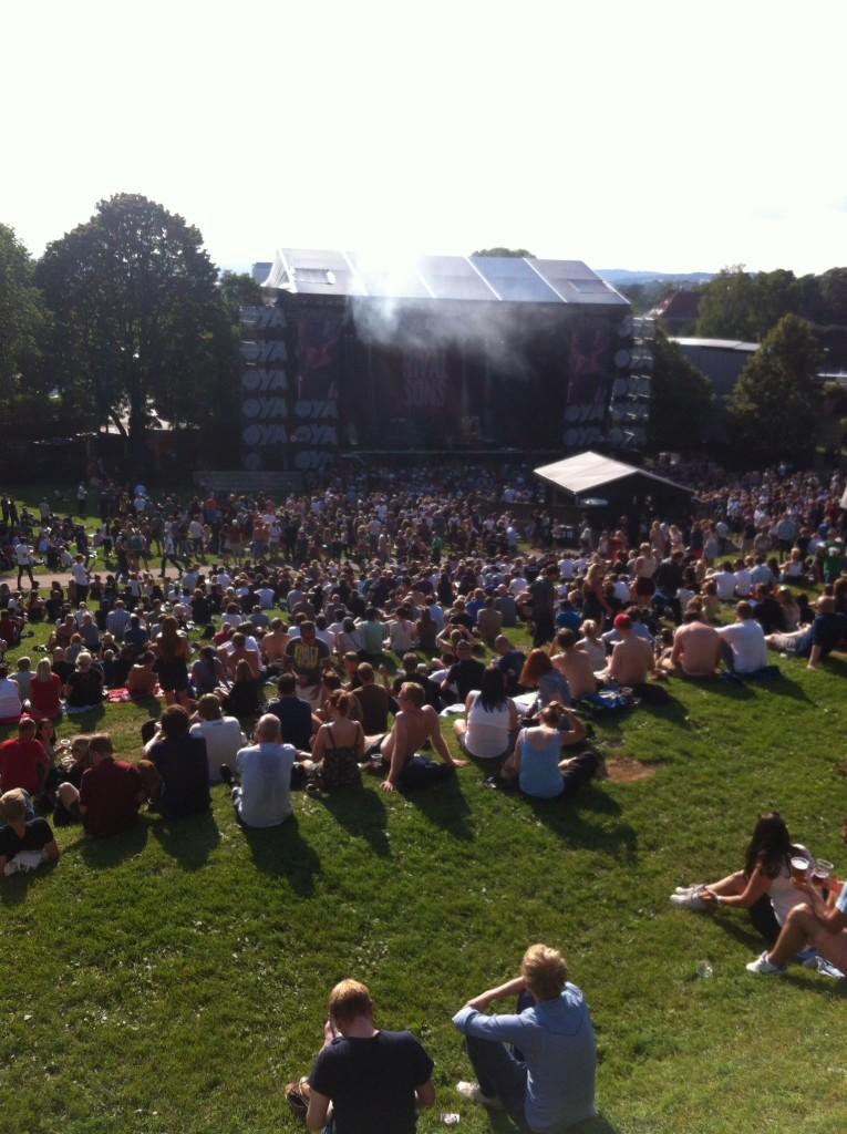 Øya Festival 2014 - stage
