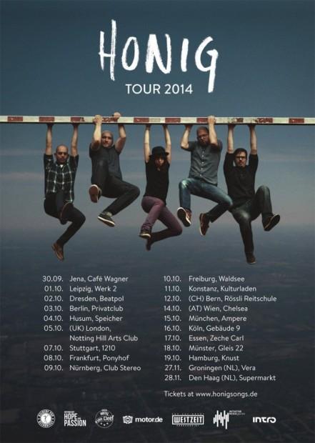 HONIG Tour 2014