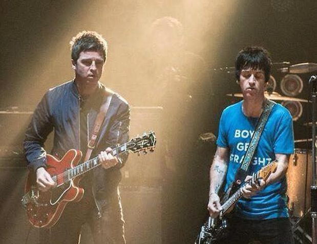 Johnny Marr - Noel Gallagher