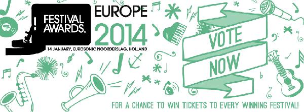 European Festival Awards 2014 - Banner
