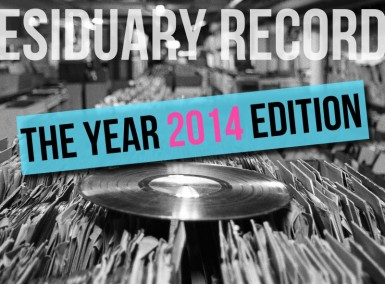 NBHAP - Residuary Records - The 2014 Edition
