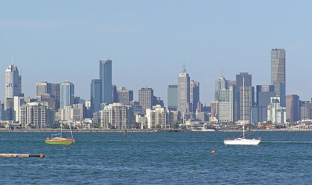 The Melbourne skyline by day