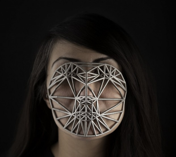 Face Cages by Zach Blas