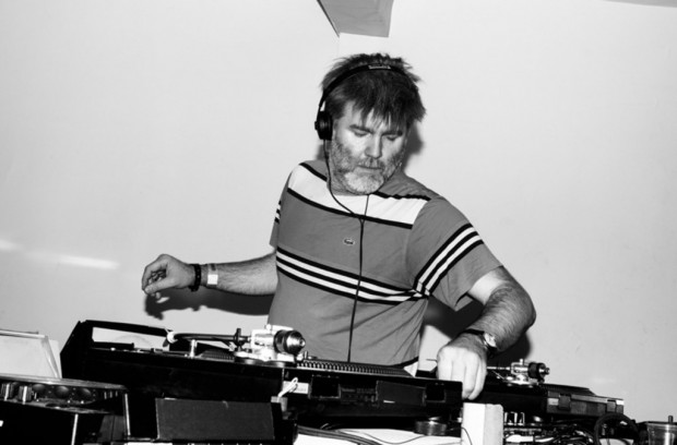 A DJ with a vision. James Murphy, DJing at the DFA Anniversary party 2013.