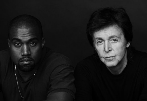 Kanye West - PaulMcCartney - Photo by Inez and Vinoodh