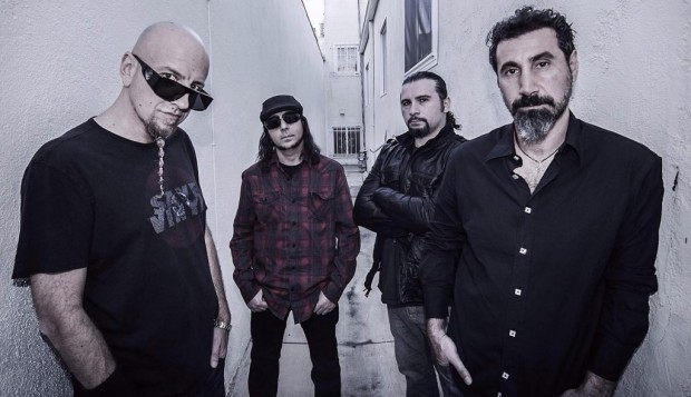 System Of A Down - Press Photo 2015