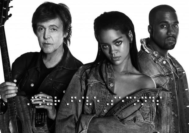 Kanye - Rihanna - McCartney