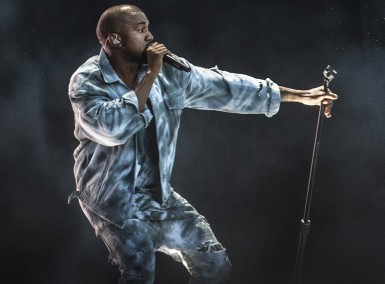 Kanye West - Live - Photo by PA Wire