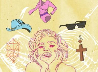 Madonna - Illustration by Stephan Ibrahim