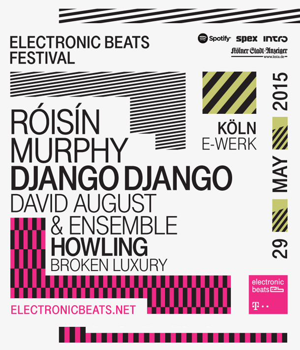 Electronic Beats - Cologne - Full Line-Up - 2015