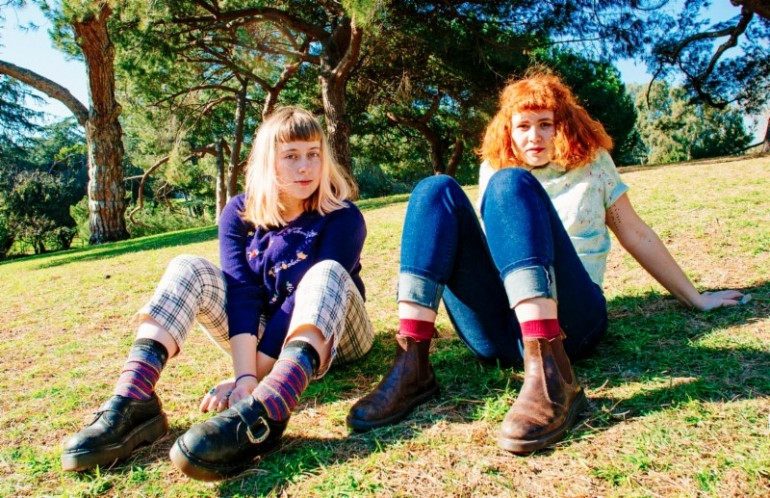 Girlpool - Photo by Alice Baxley