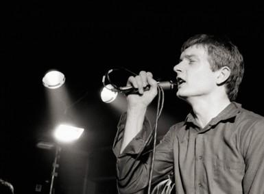 Ian Curtis - Photo by Martin O'Neill