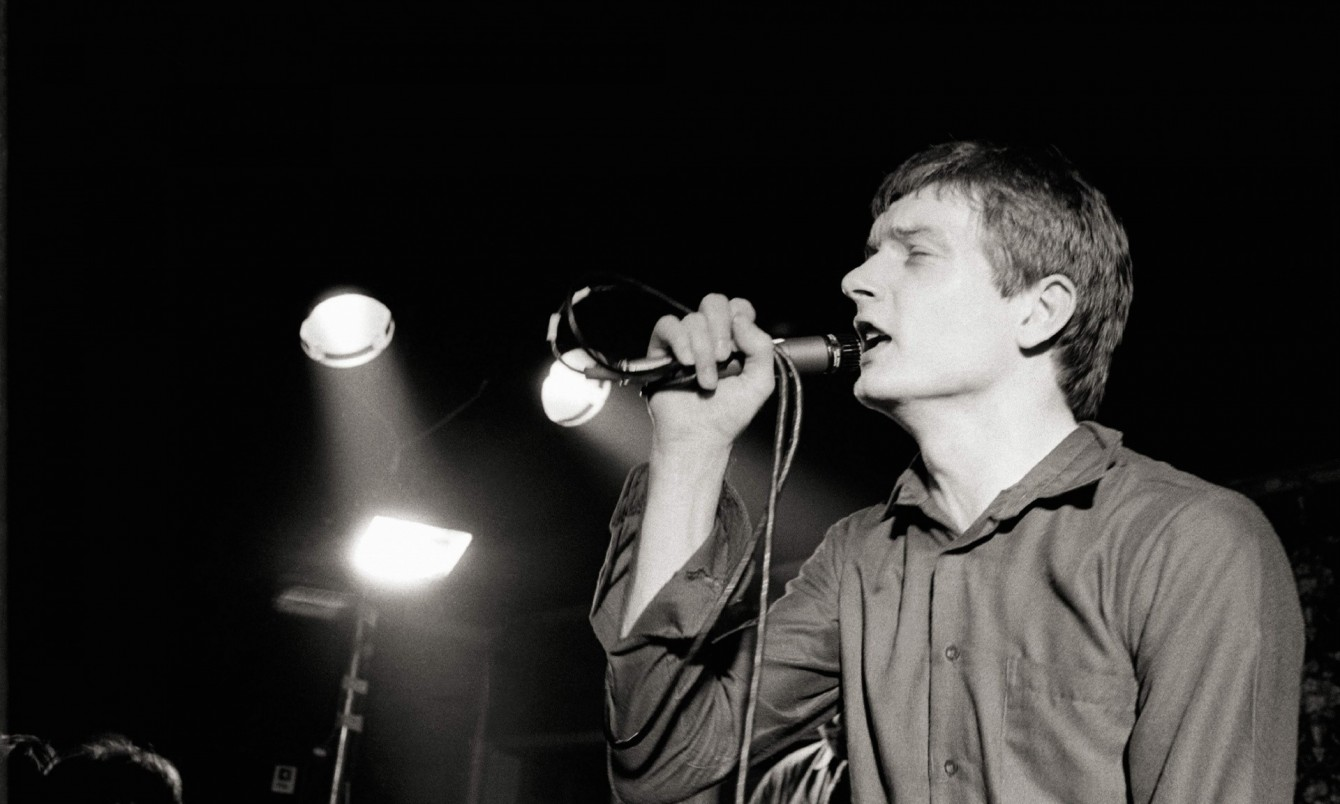 Ian Curtis - Photo by Martin O'Neill