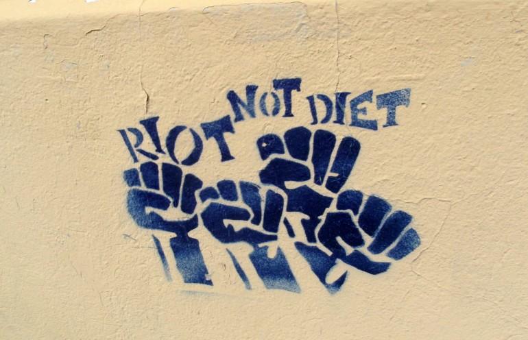 No Diet Day 3 - StreetArt