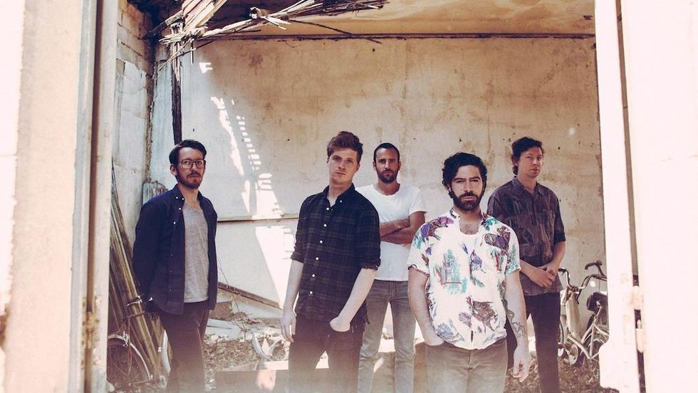 Foals - Photo by Nabil Elderkin