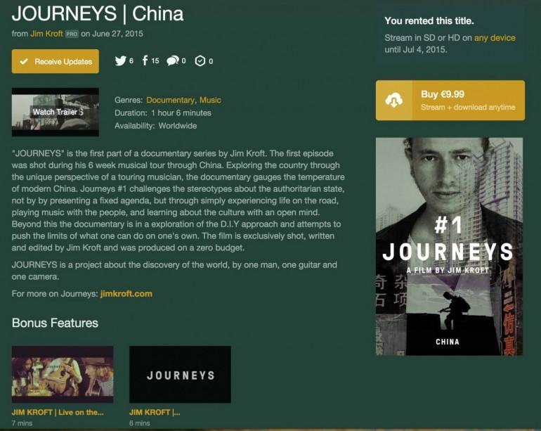 Jim Kroft - Journeys - On Demand