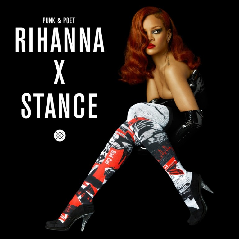 Rihanna x Stance 1