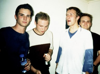 Coldplay - Early Days - Photo by Debs Wild