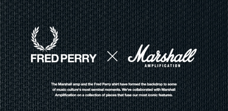 Fred Perry x Marshall 2