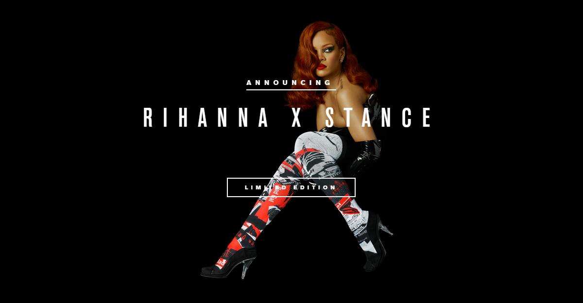 Rihanna x Stance 2