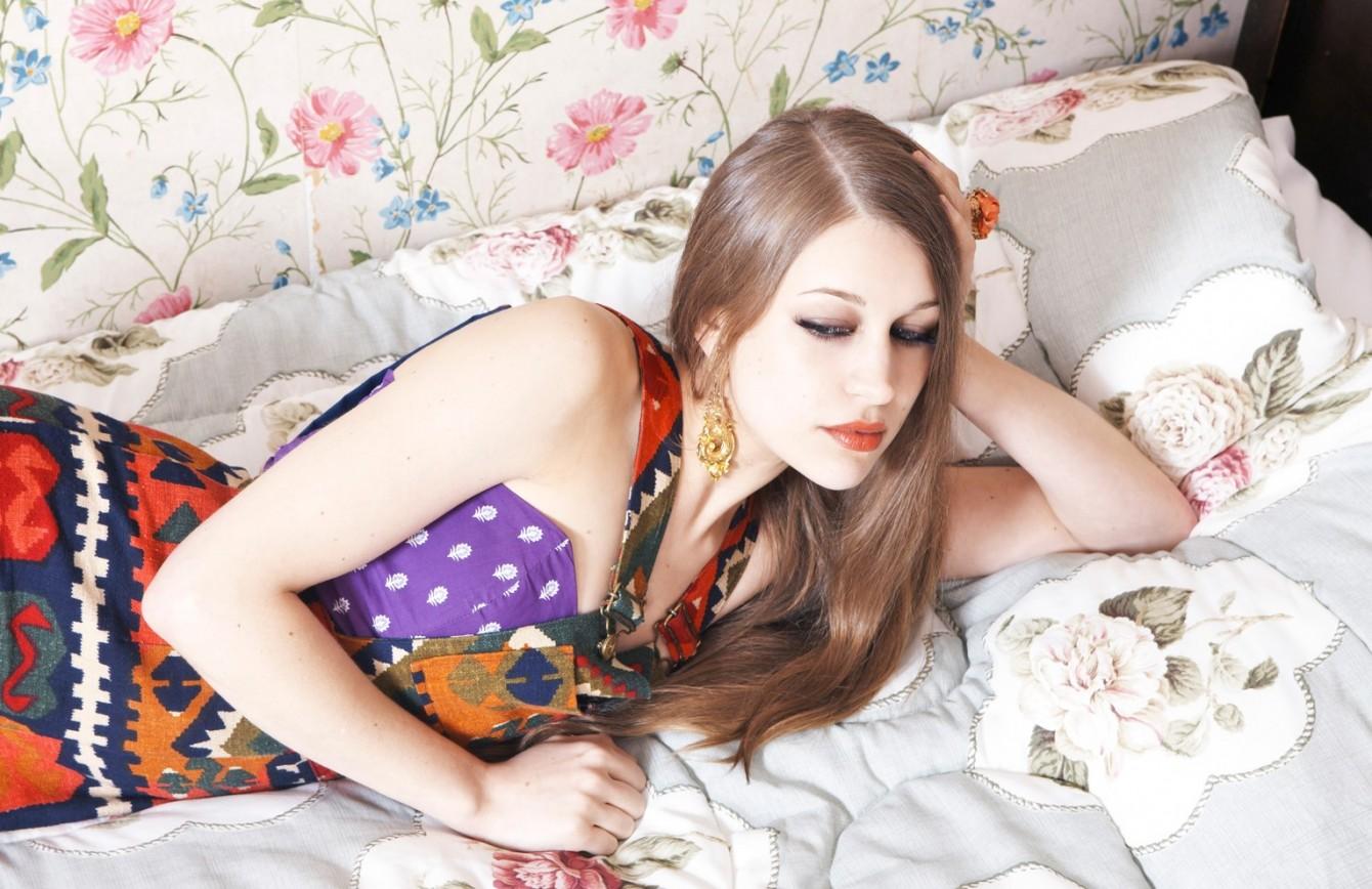 Joanna Newsom - Photo by Annabel Mehran