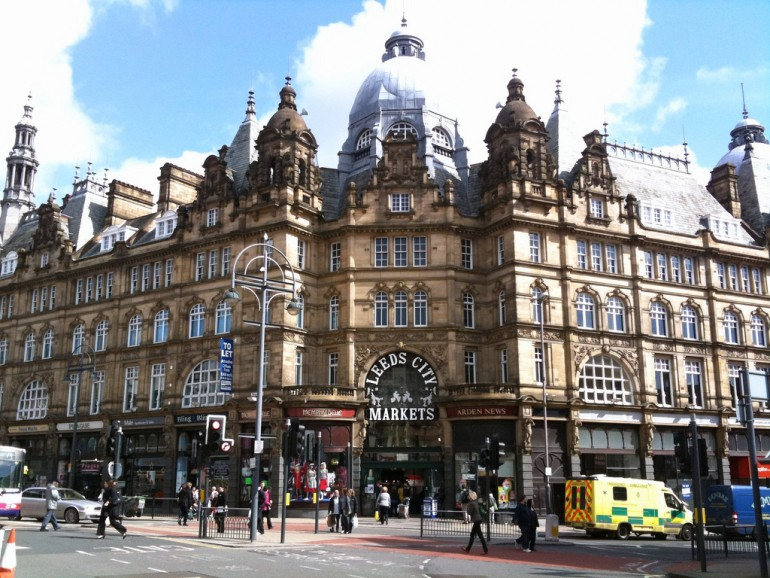 Leeds City Markets - Photo by Nicholas Smale