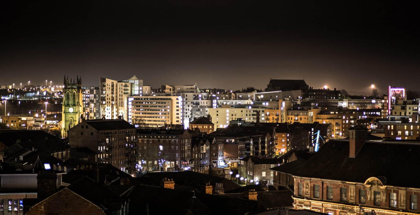 Leeds Skyline - Photo by Stephen R Melling