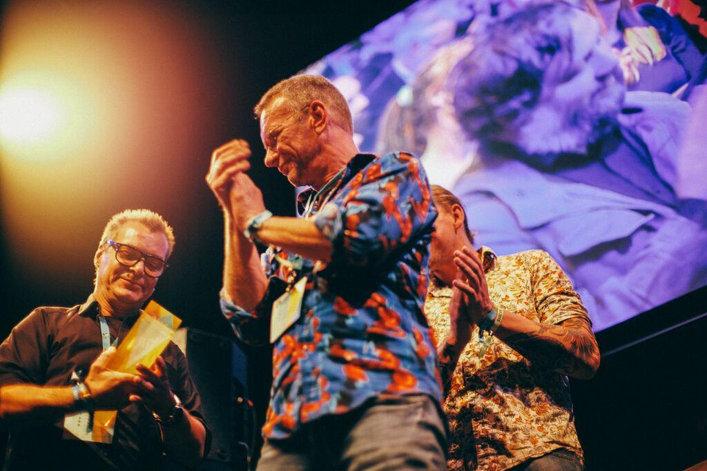 The guys behind Glitterhouse Records - photo: Gerhard Kühne