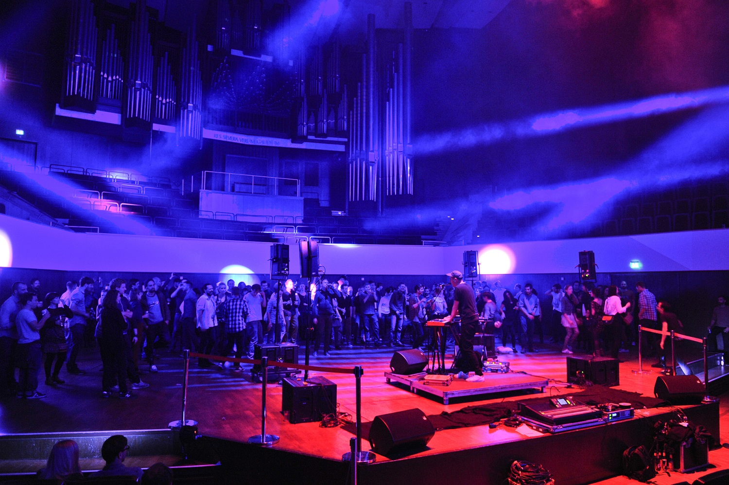 The Audio Invasion offers a full audio-visual experience in a great venue