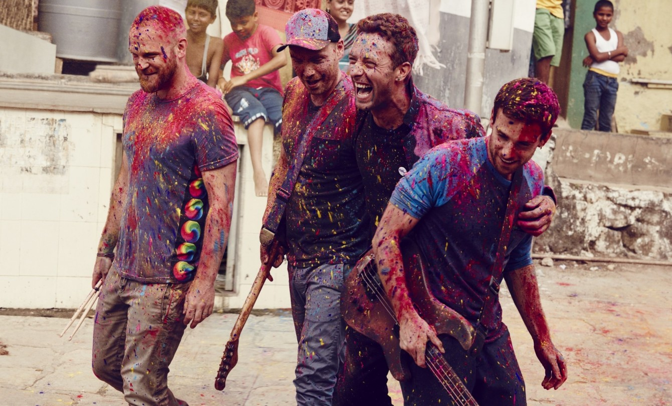 Coldplay - 2015 - Photo by Julia Kennedy