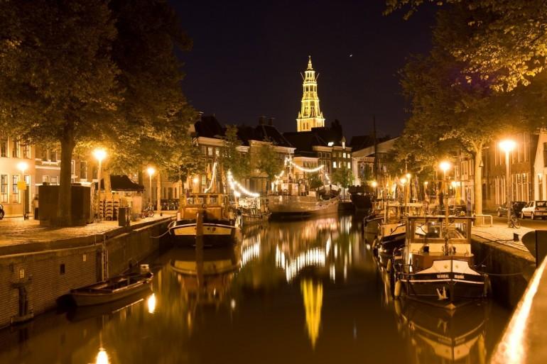 Groningen by night - A vital idyll