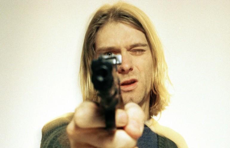 Kurt Cobain - Photo by Jeff Kravitz