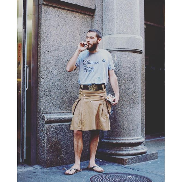 Man in Skirt 2