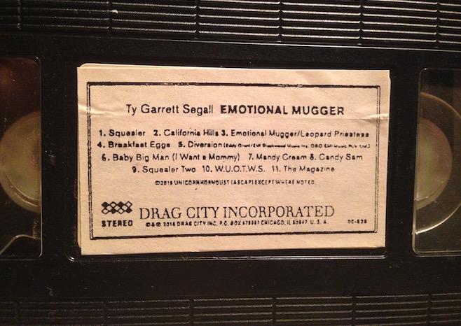 Ty Segall - Emotional Mugger - VHS
