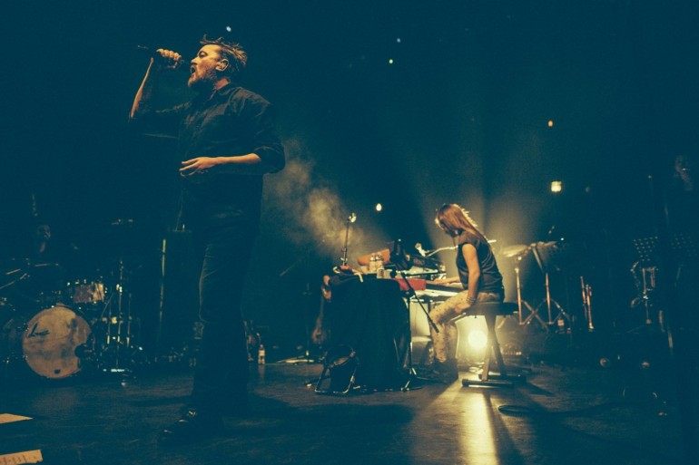 GUY GARVEY live at O2 Shepherd's Bush Empire on Dec 2nd, 2015 (Photo by Peter Neill/ Shoot The Sound)