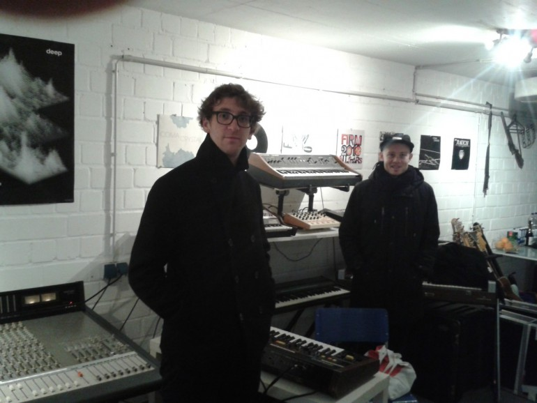 In their own studio