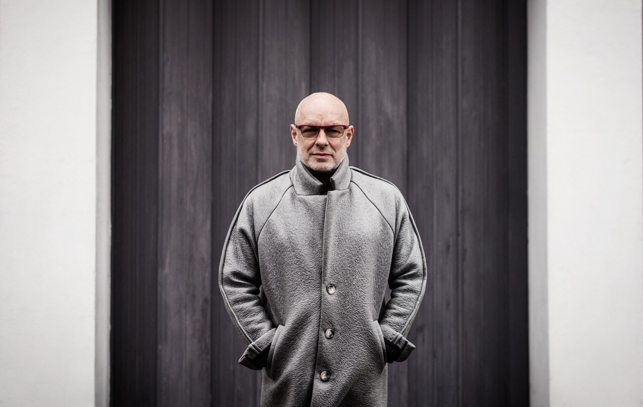 Brian Eno - Photo by Shamil Tanna