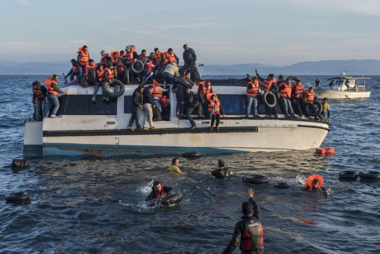 Syrian Refugees and Greeks
