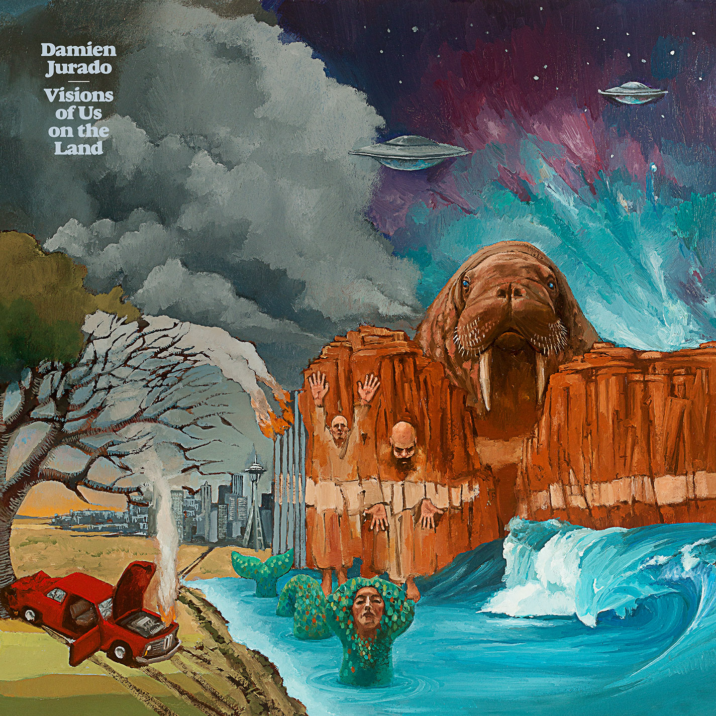 Damien Jurado - Visions Of Us On The Land - Artwork